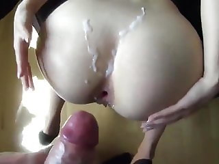 hot can this cock fit that small ass