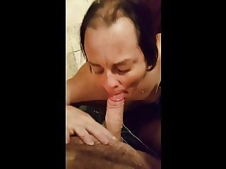 Slutty Wife Sucks 2 Cocks