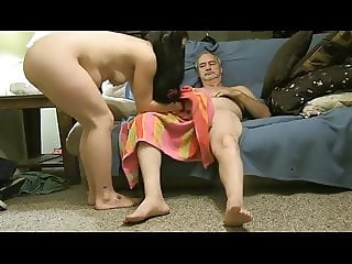 Girl with dirty feet on top