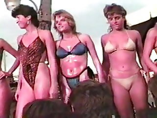 Candy Store Bikini Contest Fort Lauderdale Florida 2-28-86