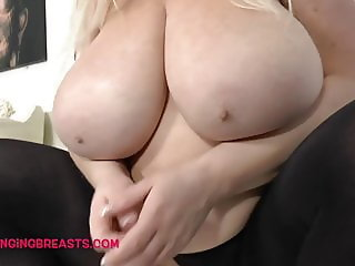 Huge Tits Blonde Mature