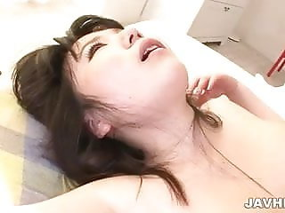 Jun Mamiya enjoying a steamy fuck with her lover