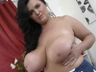 Worlds best mother with huge natural juicy tits