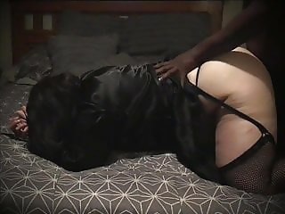 Mature BBW Wife Strokes And Edges BBC Before Fucking