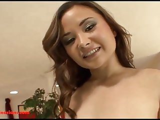 asian cuttie gets big fat black cock