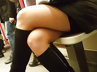 Hot legs in pantyhose