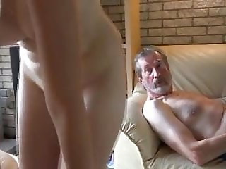 Blonde Girls Fuck Grey Geezers