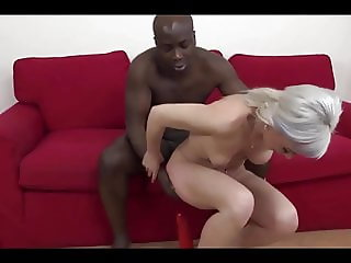 Granny Gets A Black Dick Anal
