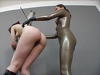naked hooded slave girl played by mistress
