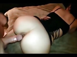 Wife homemade farting creampie