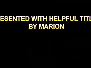 Does Marion really take it in the ass?
