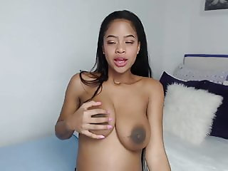 Pregnant Ebony Latina perfect body so beautiful BD