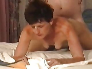 mature Turkish lady with small empty saggy
