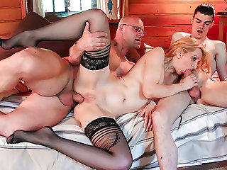 LETDOEIT - French Wife Gets Shared By Daddy and Son