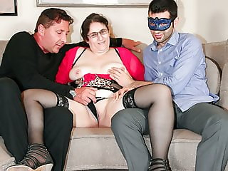 LETSDOEIT - Curvy Italian Mature PAWG Banged by Young Studs