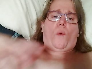 horny girl trying her new toy part 3