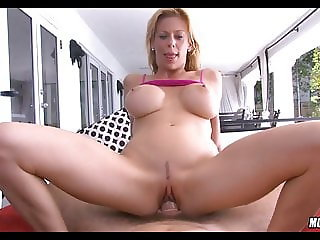 Petite Mature Lday with Huge Fake tits