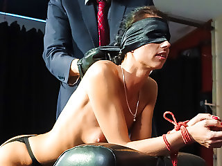LETSDOEIT - Wild BDSM and Ass Fingering with German Slave