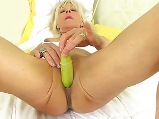 GILF Granny Elaine Hot Fun With Banana by Dracarys69