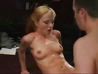 Innocent Pigtailed Blonde Teen Her First Extreme Sex