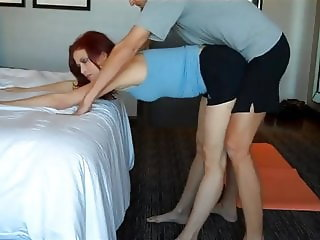 Mom Gets Fucked After Doing Yoga