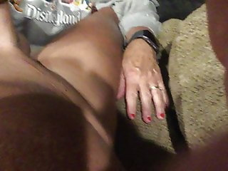 Wife giving me a great blowjob