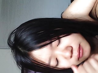 Lovely Chinese GF's dirty sex, blow job, body licking