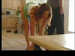Caning young lady Jennifer