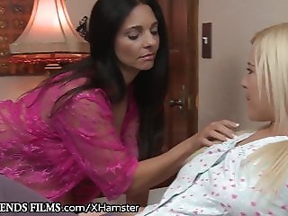 GirlfriendsFilms MILF Mindi Mink Licks Teen Slow and Deep