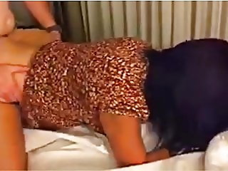 Strangers fuck and creampie my wife