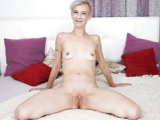 Granny neighbor fucks a big cocked guy