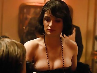 Eve Hewson Sexy Cleavage from Papillon On ScandalPlanet.Com