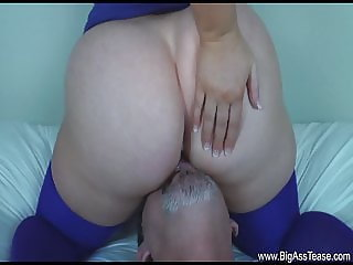 he Ate her ass and jerked off