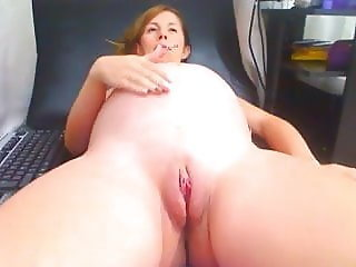 Smoking fetish pregnant plays on cam