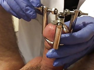 Cock sounding by nurse