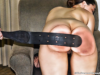 Strapped at Home - Razor Strap & Prison Strap - Spanking