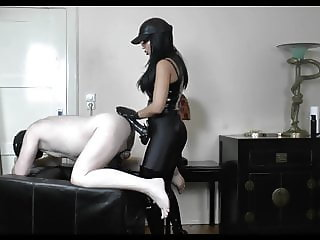 Strap-On Chastity Fuck