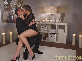 Dane Jones Elegant beauty in sexy lingerie and heels romance