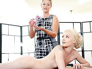 India Summer takes care of her student