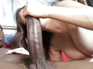 Busty Mom Tris Interracial Sex In Front Of son