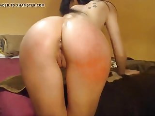 Camgirl with the most roundest ass