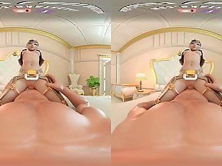 Take DVa for a ride - 3D vr porn movies