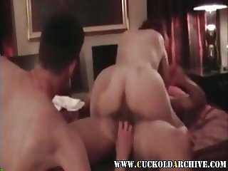 Cuckold Archive Wife fucking BBC and sissy husband licking