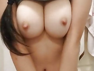 Cute Chinese Teen Showing her Big Tits