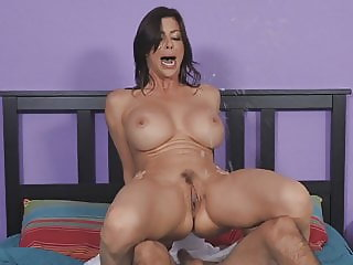 Squirter Mommy needs a young cock