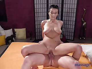 Massage Rooms Romanian beauty Nelly Kent licked fucked