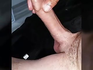 Playing with my cock on cam compilation