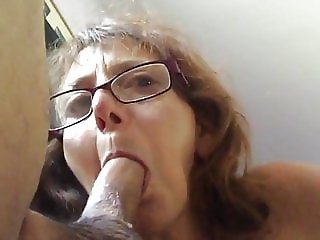 granny blow Job