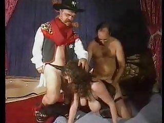 The Midget, The Floopy Tits & the big Cock