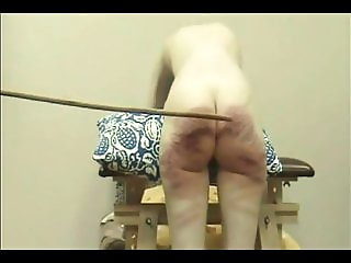 russian amateur wife caned very hard without mercy !!!